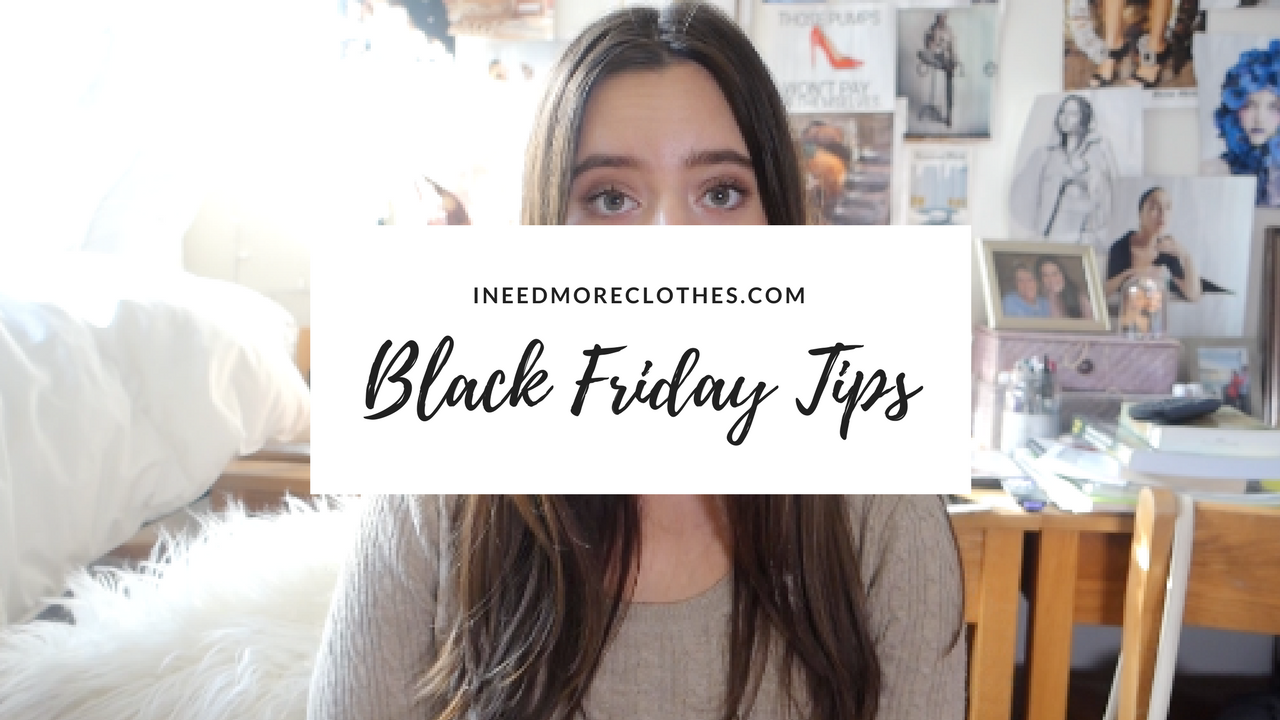 Black Friday Tips- Best Places to Go, Best Deals & How to Make it Worth it- VIDEO