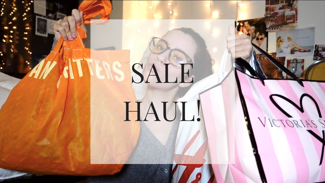 SALE Haul! Forever 21, Urban Outfitters, Victoria's Secret and H&M- VIDEO